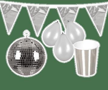 Zilveren decoratie