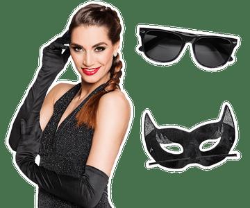 Zwarte accessoires