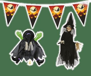 Heksen versiering