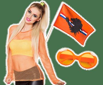 Oranje feestartikelen