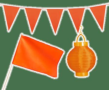 Oranje decoratie