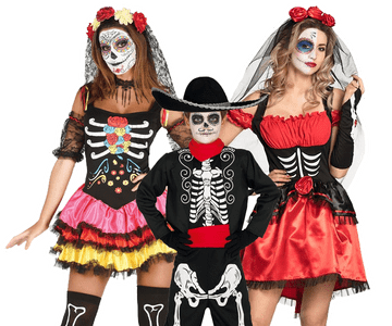 Dia de los muertos kostuum