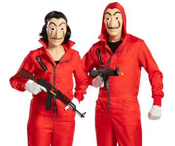 La Casa de Papel kostuums
