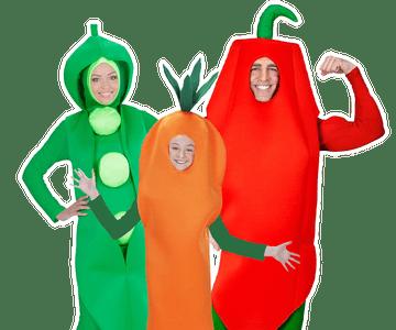 Groente kostuum