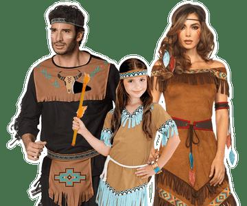 Indianen kleding