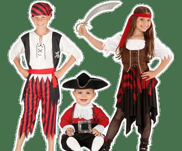 Piraten kleding kind